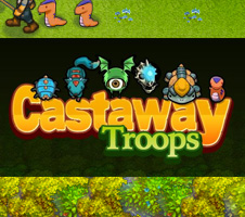 Action - Castaway Troops